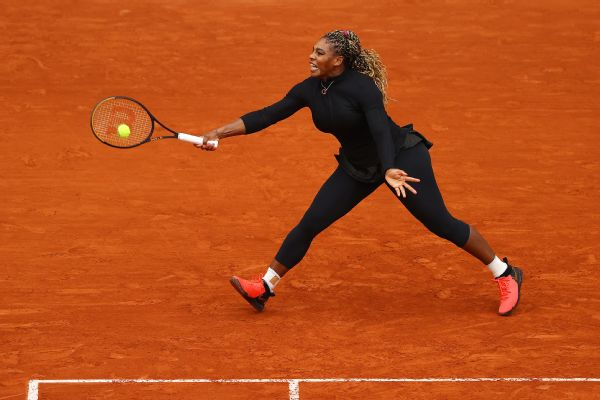 Serena tops Ahn to reach French second round