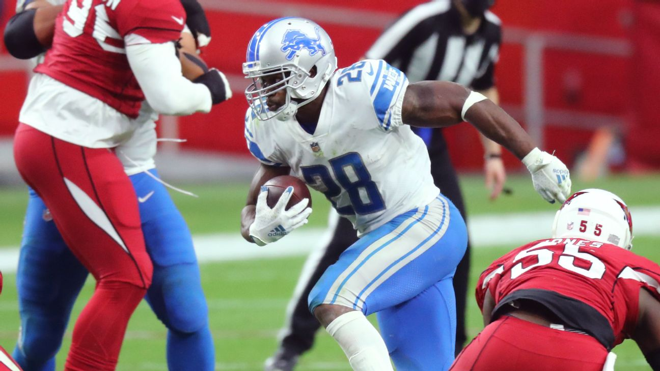 Detroit Lions Likely To Roll With Veteran Adrian Peterson As Lead Running Back
