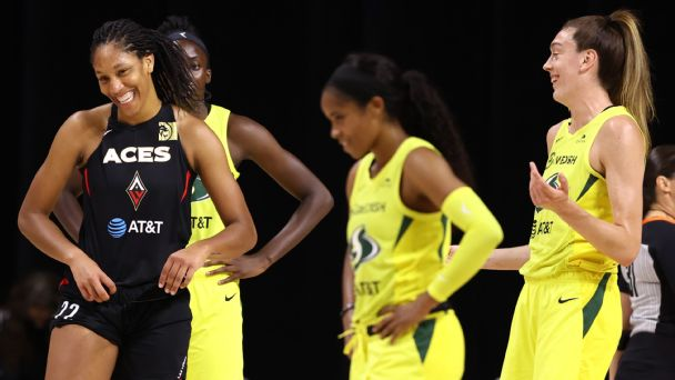 The storylines and stats that matter ahead of Seattle Storm-Las Vegas Aces