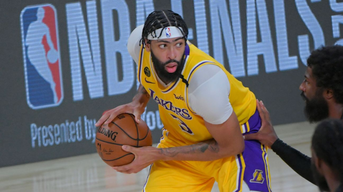 Los Angeles Lakers Anthony Davis Shines In Nba Finals Debut But Says Job Is Not Done