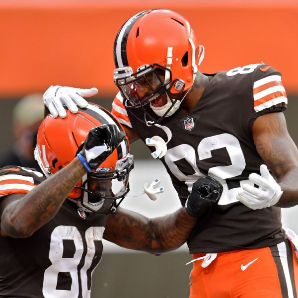 Browns 4-1 for first time since Belichick was coach