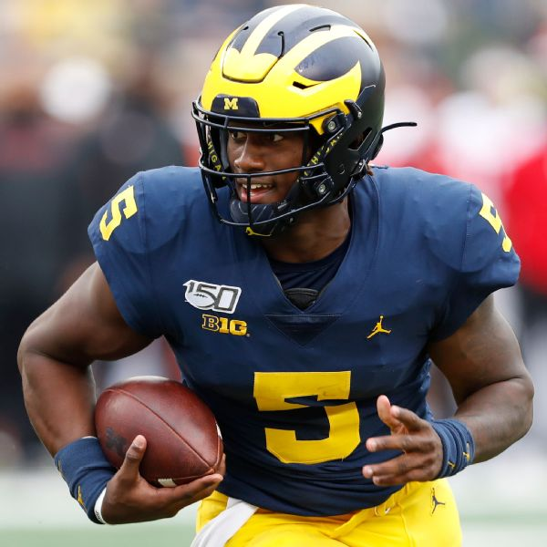 Sources: QB Milton exits Michigan for Tennessee