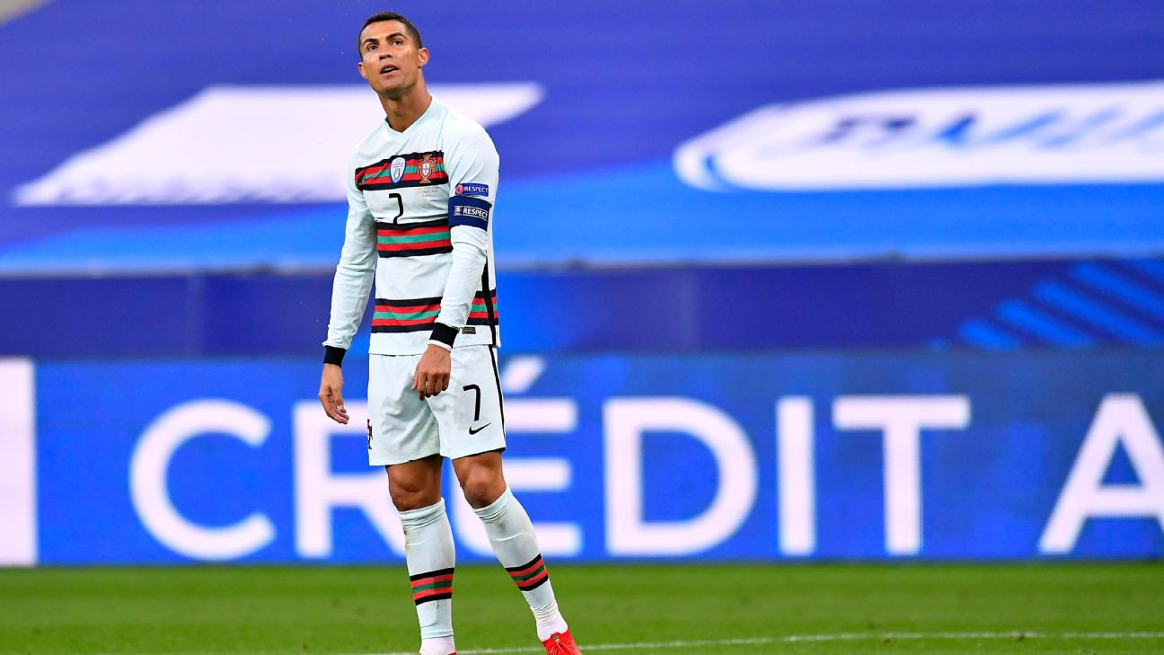 cristiano ronaldo tests positive for coronavirus leaves portugal squad cristiano ronaldo tests positive for