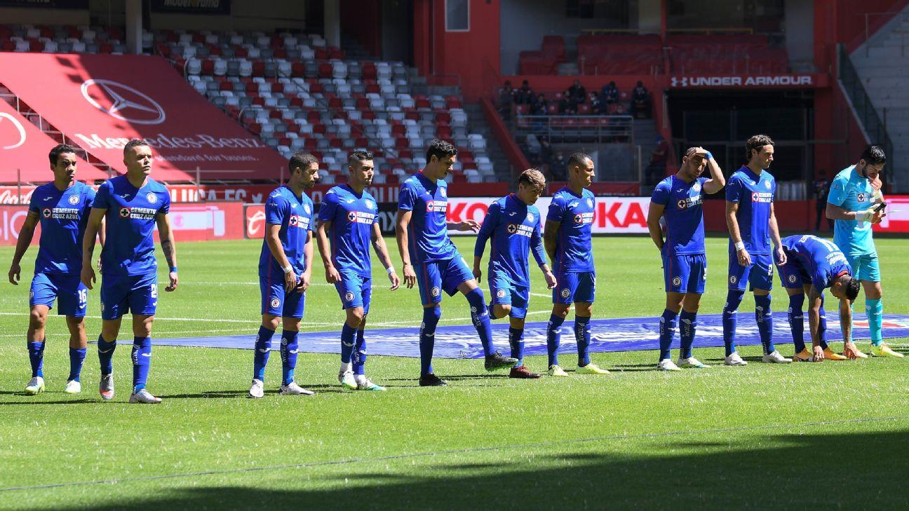 Tres jugadores de Cruz Azul, positivos por Covid-19