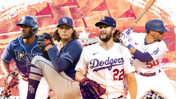 Everything you need to know about Dodgers-Rays World Series