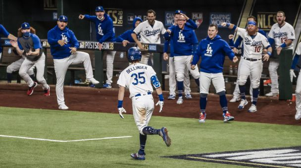How a text from Dad helped turn Cody Bellinger into an October hero
