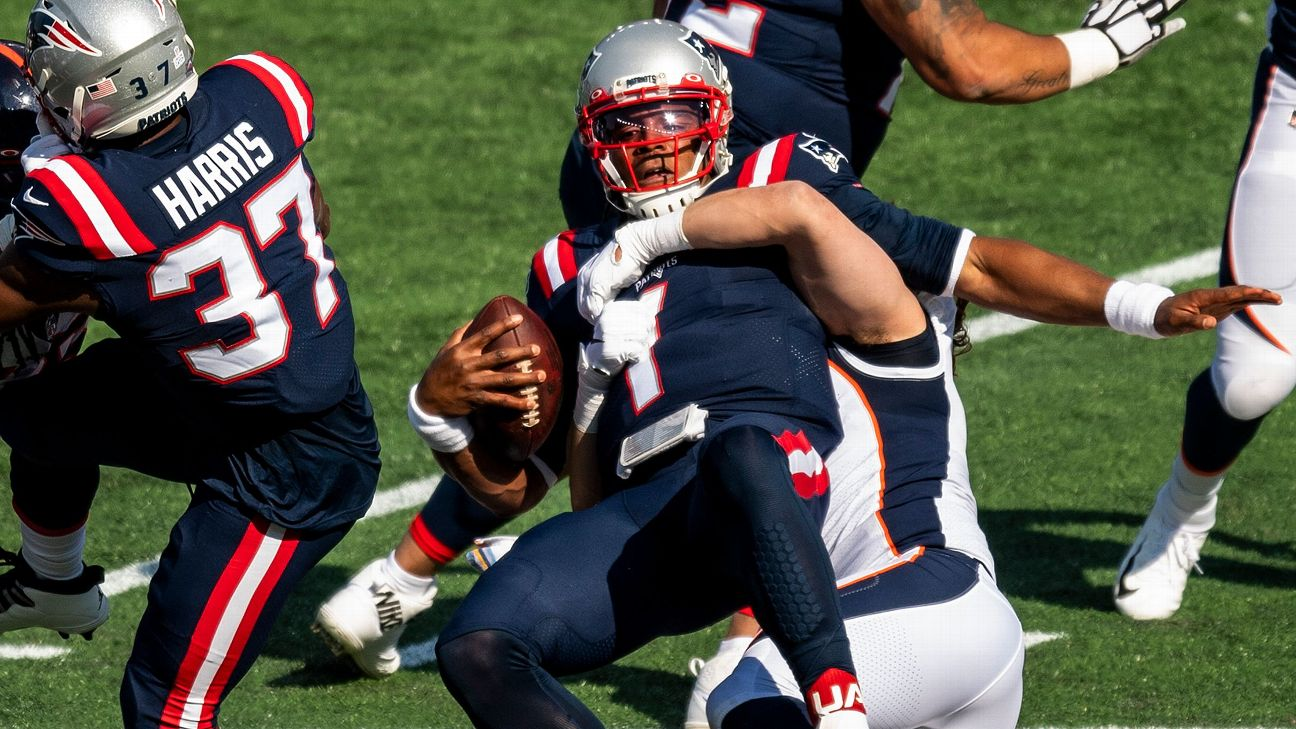 Takeaways: An U-G-L-Y showing for the Patriots