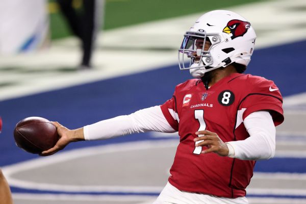 Murray still perfect at AT&T Stadium as Cards roll