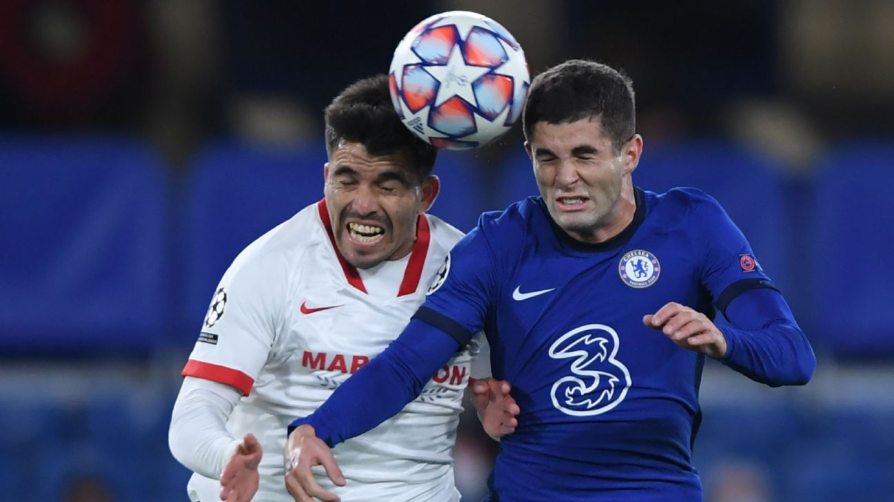 Chelsea held at home by Sevilla