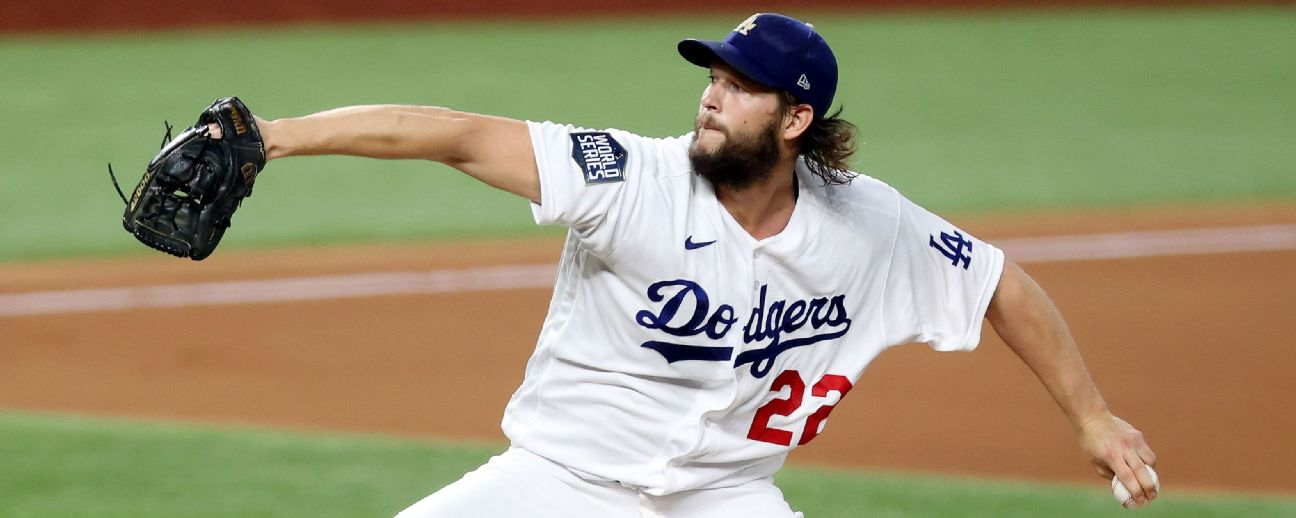 Follow live: Kershaw, Dodgers face Rays in pivotal Game 5 with series tied