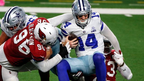 What happened to the Cowboys, Vikings and Texans? Barnwell ranks the NFL's contender busts