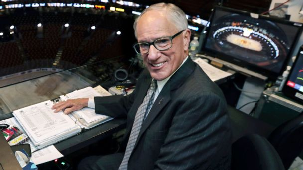 Doc Emrick's influence on the NHL's next generation of voices