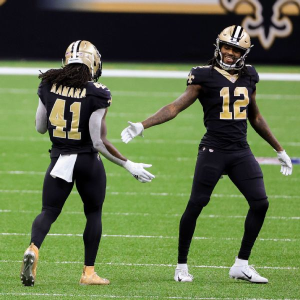Saints win down top WRs with 3 a.m. game plan