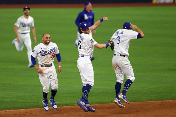 Seager named MVP as Dodgers finally clinch title