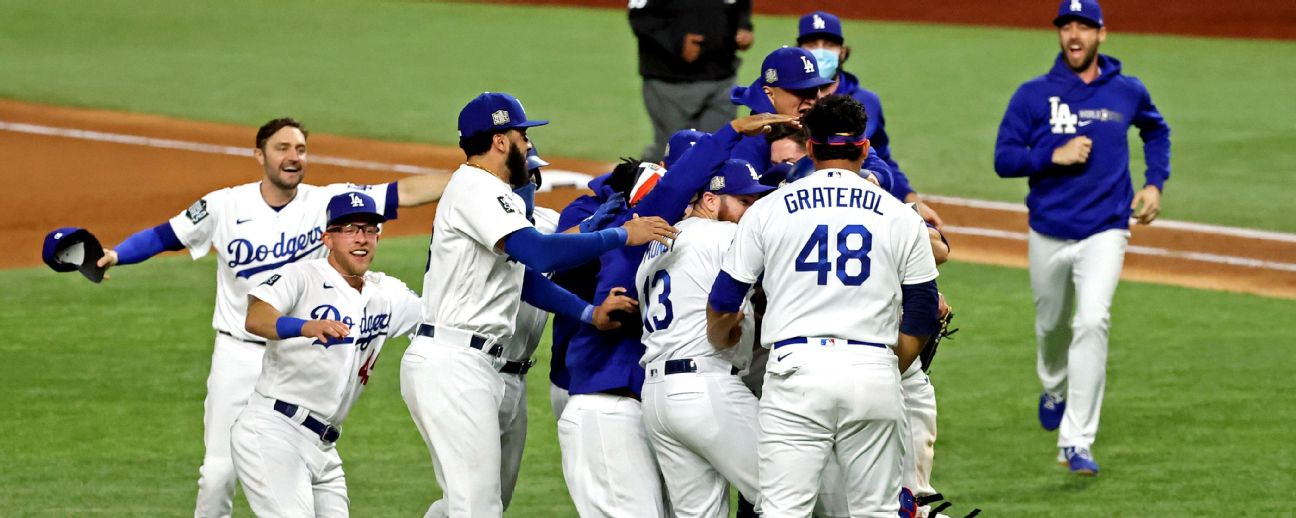 Dominant Dodgers cement place in history with World Series title