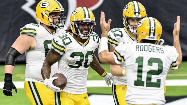 Are the Packers and Cardinals really this good? Barnwell ranks the top playoff risers