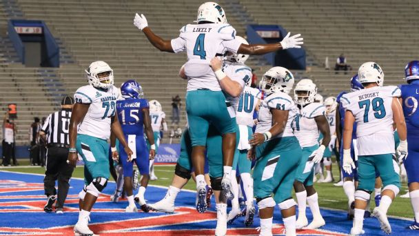 Teal turf, mullets and Coastal Carolina's long road to becoming college football's must-watch team