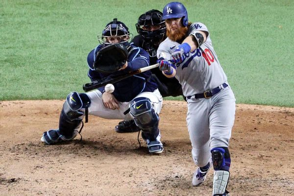 Dodgers 3B Turner announces he's staying put