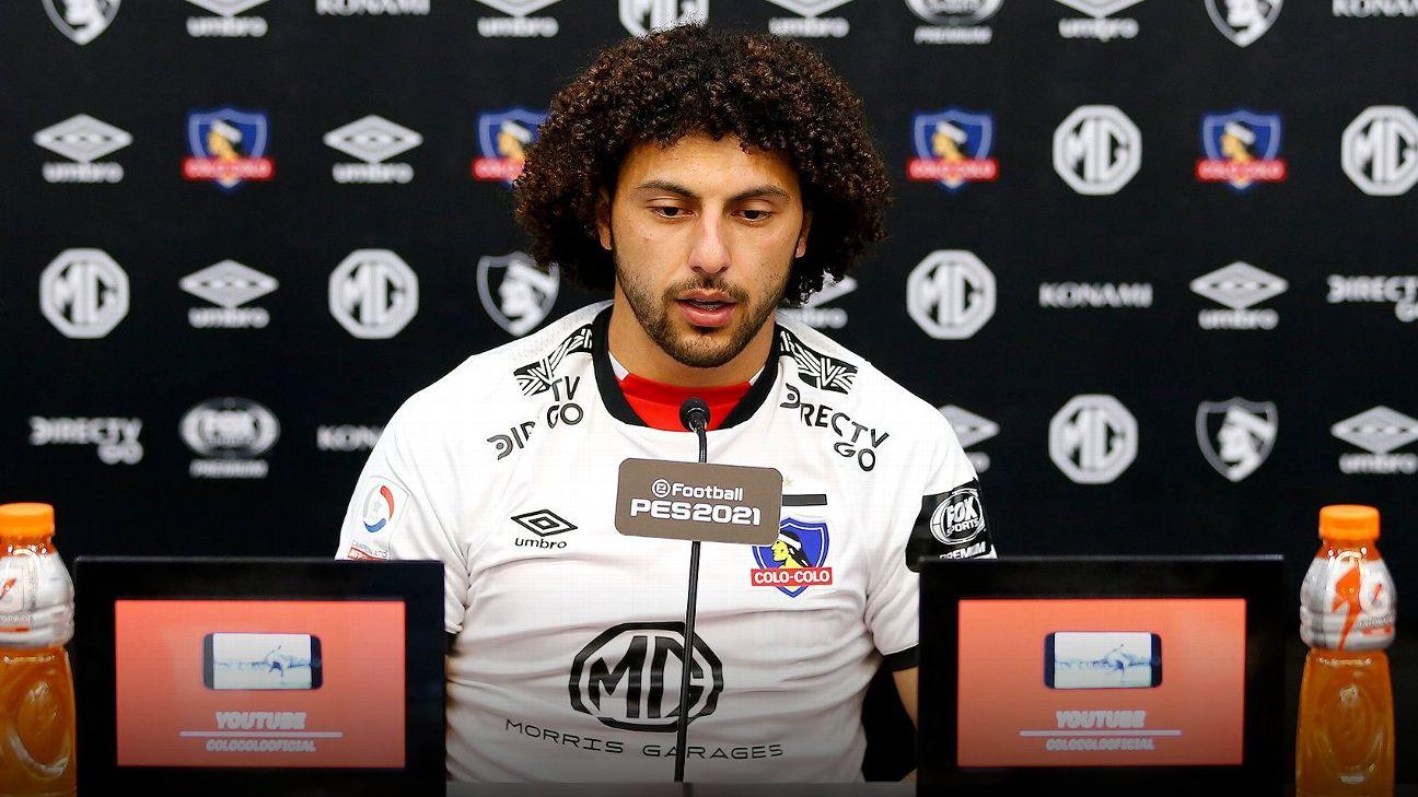 """Maxi Falcón: """"Estoy orgulloso y feliz de incorporarme a Colo Colo"""""""