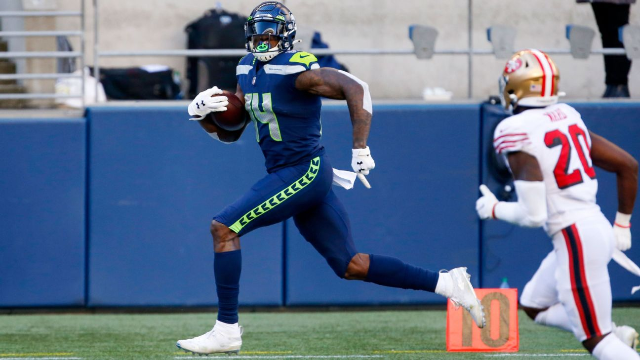 Seattle Seahawks WR DK Metcalf to run in 100-meter dash at USA Track and  Field event