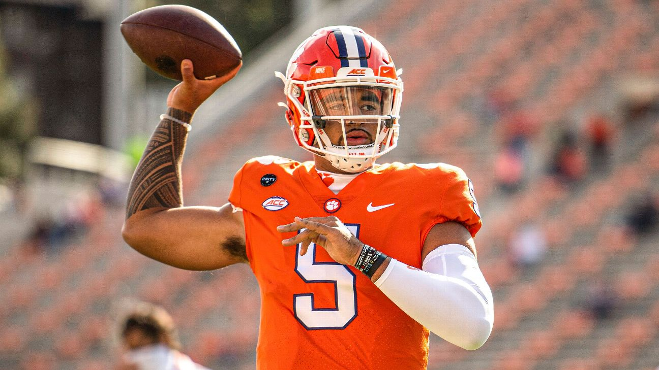 The nine things you need to know about Clemson's D.J. Uiagalelei, aka Big  5inco