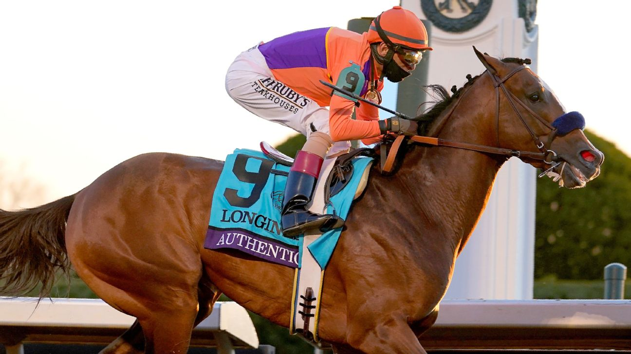 Authentic goes wire-to-wire to win Breeders Cup Classic