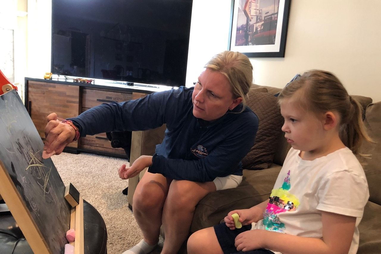 'This is why I'm here': A Detroit Lions VP tries to save her daughter from rare disease