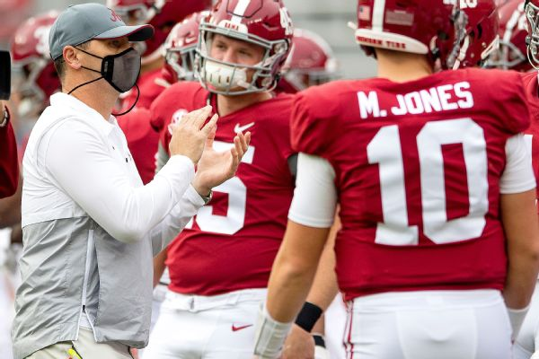 Crimson Tide remain unanimous No. 1 in Top 25
