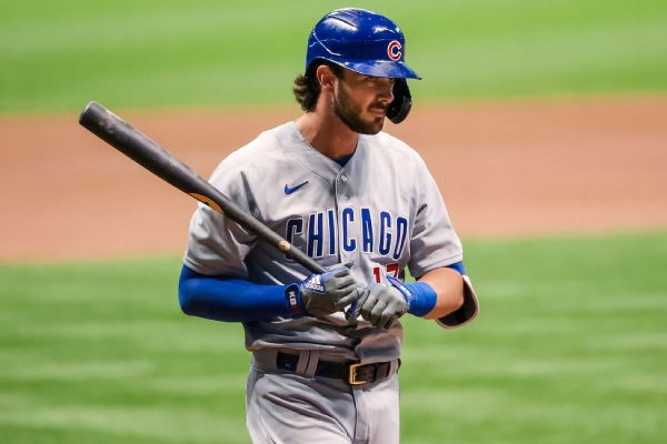 Cubs' Bryant not having as much fun as before