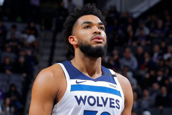 Towns says he's tested positive for COVID-19