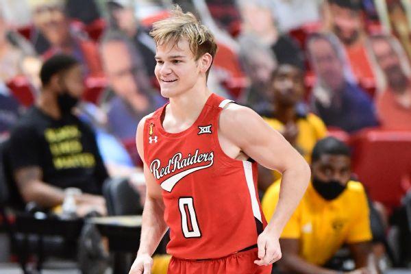 Texas Tech's McClung remaining in NBA draft