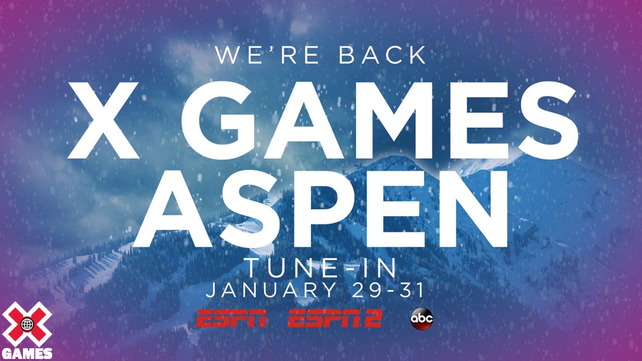 X Games Aspen 2021 Invited Athletes