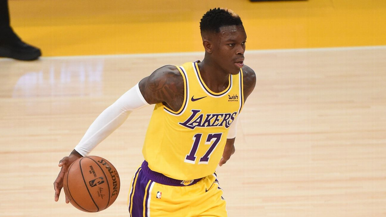 Sources - Los Angeles Lakers' Dennis Schroder tests negative, in 7 ...