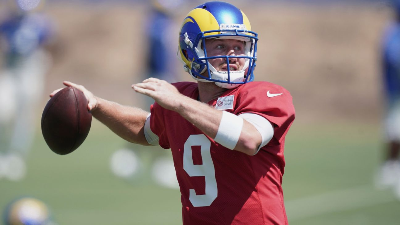John Wolford Is Now The Rams Starting Qb But Who Is John Wolford Los Angeles Rams Blog Espn