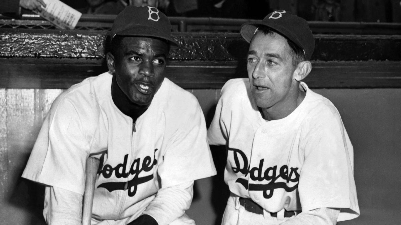 Jackie Robinson Brooklyn Dodgers New Arrivals Baseball Player Fade Jersey