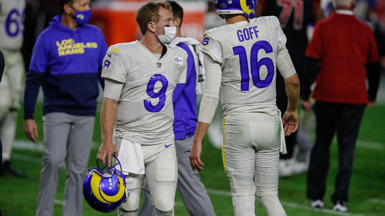 Los Angeles Rams Backup Qb John Wolford Confident Ahead Of Week 17 Start