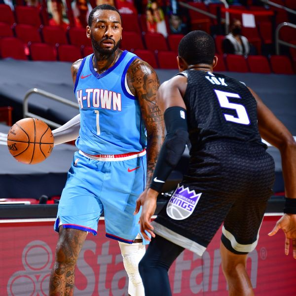 Sources: Rockets, Wall working to find trade