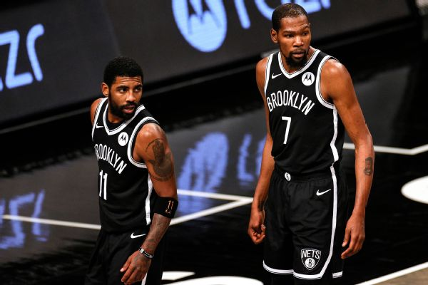 GM: KD, Kyrie committed to jelling with Harden