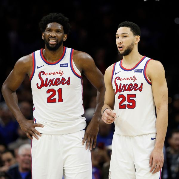Embiid, Simmons out of ASG; Zion will get start