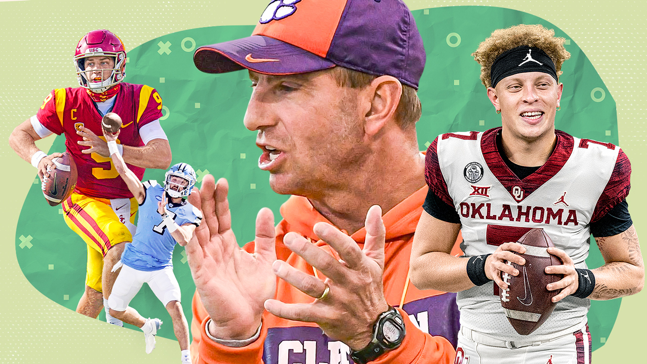 The 2021 Way-Too-Early college football top 25