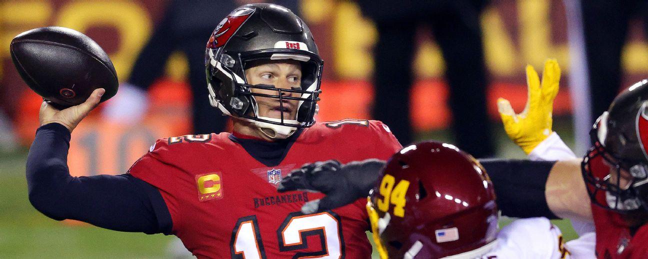 Follow live: Brady, Bucs travel to face Washington in wild-card showdown