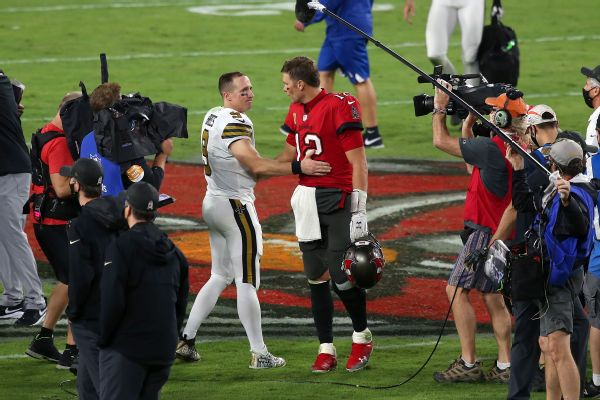 Brees: Playoff matchup with Brady was 'inevitable'