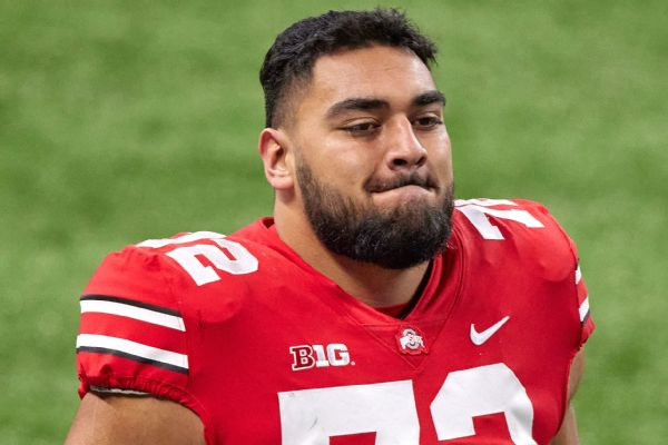 Ohio State defense down two starters; kicker also out