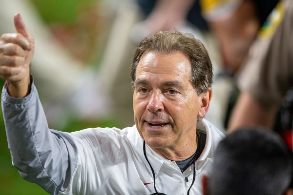 Saban encourages vaccinations in new PSA