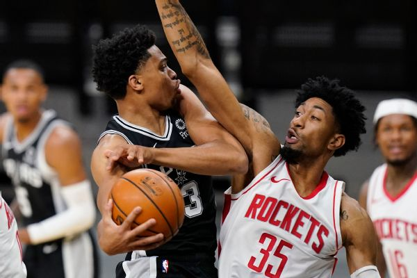 Short-handed Rockets win after 'crazy 48 hours'