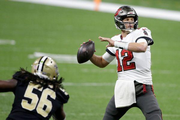 Brady, defense send Bucs to NFC championship