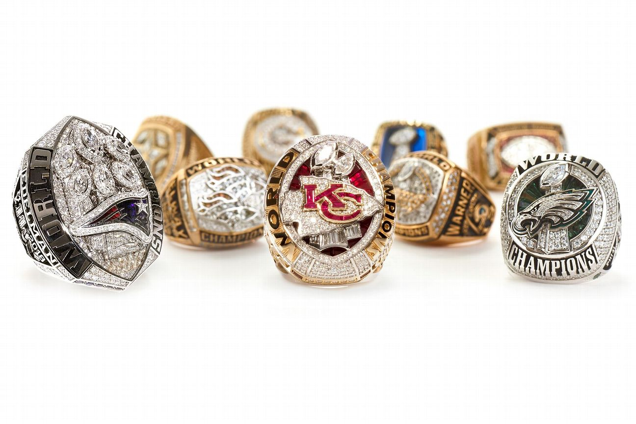 Stories behind every Super Bowl ring