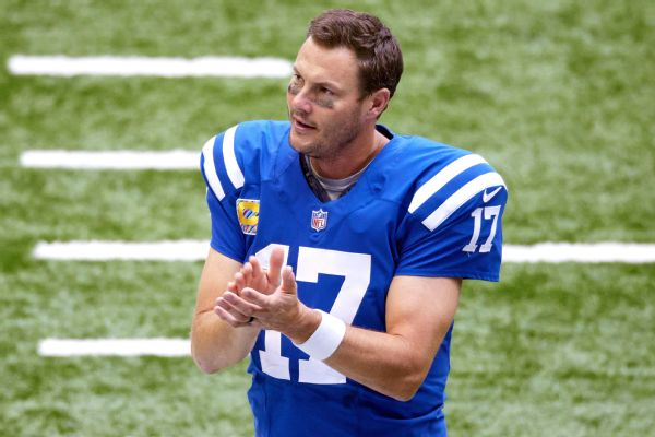 Colts QB Rivers retires from NFL after 17 seasons