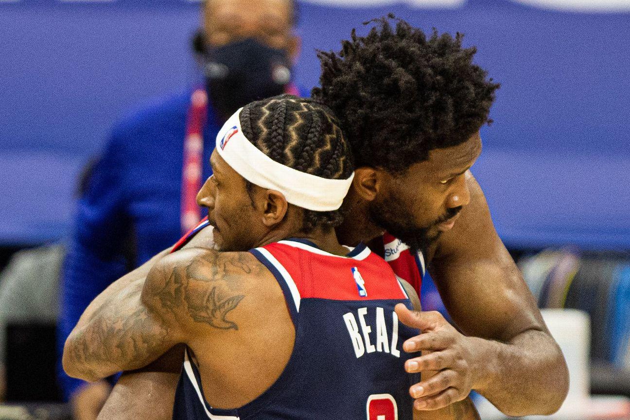 NBA enforcing no-hug rule with midcourt security