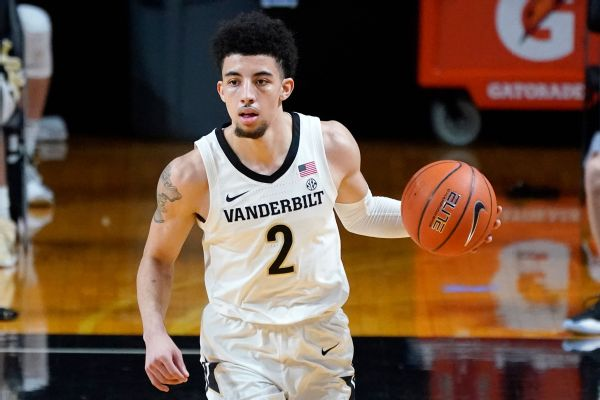Pippen Jr. entering draft, could return to Vandy